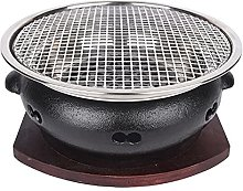 LYB Cast Iron Charcoal Barbecue Grills Korean