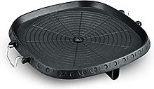 LYB Outdoor Barbecue Grill Non-Stick BBQ Round Pan