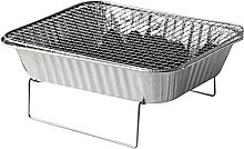 LYB Portable Charcoal BBQ Disposable BBQ Home