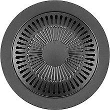 LYB Portable Round Shape Smokeless Indoor Barbecue