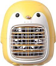 LYEJFF Penguin Portable Air Conditioner Fan, Quiet
