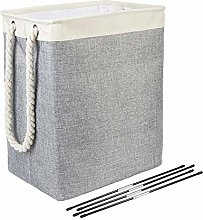 LYJ Laundry Basket With Handles Linen Hampers For