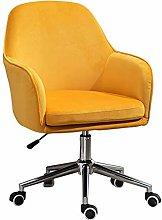 LYJBD Desk Chairs Office Swivel Modern Upholstered