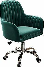 LYJBD Desk Chairs Office Swivel Velvet Adjustable