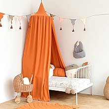 LYKH Bed Canopy for Children, Round Dome Mosquito