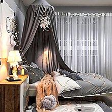 LYKH Children Round Dome Mosquito Net Princess Bed