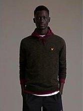 Lyle & Scott Yarn Mix Detail Knitwear - Green
