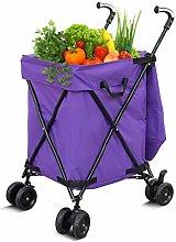 LYLSXY Carts,Shopping Cart Household Folding