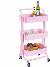 LYLSXY Carts,Trolley Bedroom Cart Multifunctional