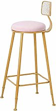 LYLSXY Chairs,Bar Stool Barstools Seat Style Metal