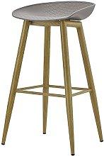 LYLSXY Chairs,Bar Stool High Stool Bar Chair Solid