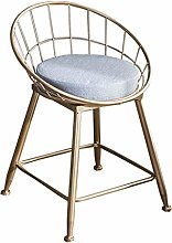 LYLSXY Chairs,Bar Stool Wrought Iron Bar Chair