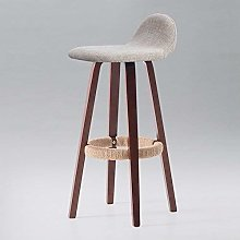 LYLSXY Chairs,Solid Wood Bar Chairs,Modern