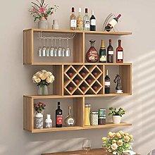 LYLSXY Modern Minimalist Wall Hanging Wine Cabinet