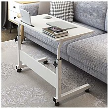 LYLSXY Overbed Table, Height Adjustable Computer