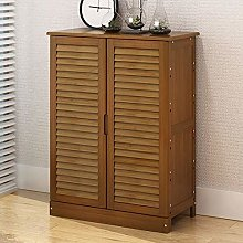LYLSXY Shoe Rack,Bamboo Shoe Cabinet Modern