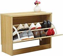 LYLSXY Shoe Rack,Wooden Shoe Storage Cabinet