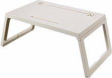 LYLSXY Tables,Foldable Bed Tray Lap Desk, Portable