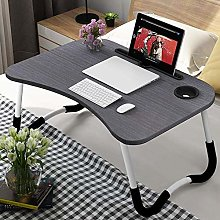LYLSXY Tables,Foldable Bed Tray Lap Desk, with