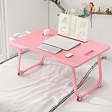 LYLSXY Tables,Large Foldable Bed Tray Lap Desk,