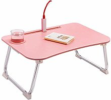 LYLSXY Tables,Large Foldable Bed Tray Lap Desk