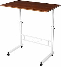 LYLSXY Tables,Mobile Lap Table Adjustable Mobile