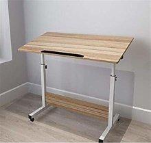 LYLSXY Tables,Mobile Lap Table Laptop Desk Height