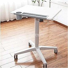 LYLSXY Tables,Mobile Lap Table Laptop Desk Movable
