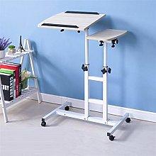LYLSXY Tables,Mobile Lap Table Laptop Table Bed