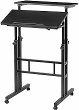 LYLSXY Tables,Mobile Lap Table Portable Adjustable