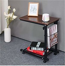 LYLSXY Tables,Mobile Lap Table Storage Holders
