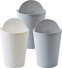 LYLSXY Trash Can,Flip Top Waste Rubbish Kitchen