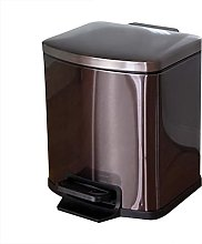 LYLSXY Trash Can,Rectangle Soft-Close Dustbin with