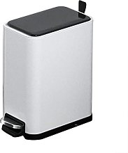 LYLSXY Trash Can,Stainless Steel Dustbin with