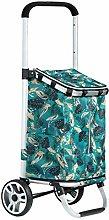 LYLSXY Trolleys,28L Foldable Shopping Trolley Bag