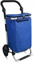 LYLSXY Trolleys,40L Multifunctional Shopping Cart