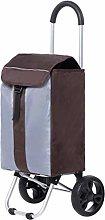 LYLSXY Trolleys,Foldable Shopping Trolley Bag on