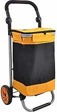 LYLSXY Trolleys,Large-Capacity Foldable Shopping