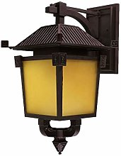 LYLSXY Wall Lamp,Outdoor Wall Lights, Classical