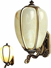 LYLSXY Wall Lights Outdoor, European Traditional