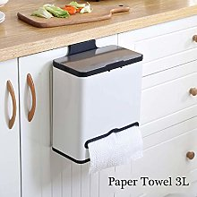 LYLSXY Waste Bin,Kitchen Hanging Trash Can Cabinet