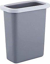 LYLSXY Waste Bin,Trash Can, Cabinet Door Hangable