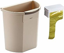 LYLSXY Waste Bin,Trash Can, Cabinet Door Hanging