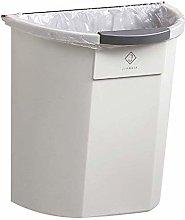 LYLSXY Waste Bin,Trash Can, Cabinet Door Wall