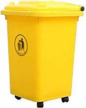 LYLSXY Waste Bin,Trash Cans,Dustbins Wheeled,