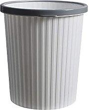 LYLSXY Waste Bins,Circular Trash Can,Wastebasket