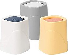 LYLSXY Waste Bins,Mini Countertop Wastebasket