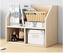 LYLY Multifunctional Desktop Bookshelf Desk