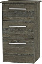 Lyman 3 Drawer Bedside Table Marlow Home Co.