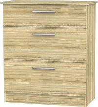 Lyman 3 Drawer Chest Marlow Home Co.